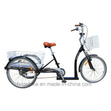 """24"""" High Grade Elder People Cargo Trike Low Cross Tricycle (FP-TRB-J011)"""
