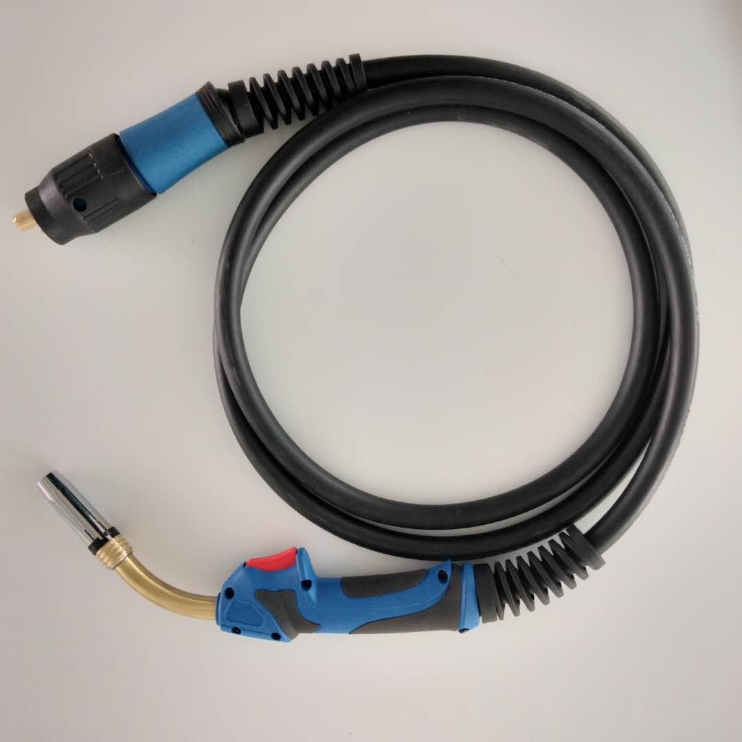 cooled welding torch