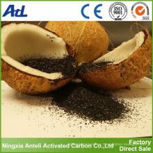 Venta caliente de carbón activado basado en cáscara de coco para filtro de aire y polvo