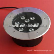 9w conduziu a luz subterrânea 12v para o uso comercial