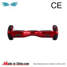 Individu de deux roues équilibrant le scooter électrique et Hoverboard
