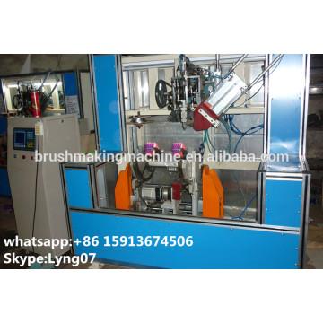 Cepillo de tocador de 4 ejes que hace la máquina / cepillo de tocador tufting machine / wc brush tufting machine
