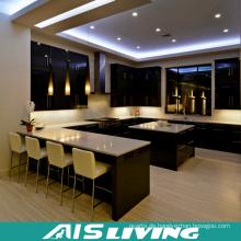 Herstellung Preis U Stil Küchenschränke Möbel für Projekt (AIS-K351)