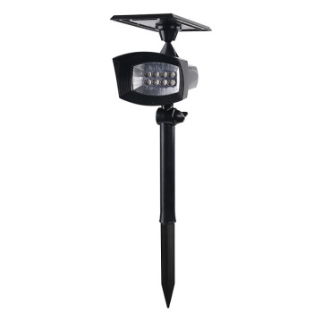 Luz regulable de aluminio negro CREE LED Spike Light 3000K