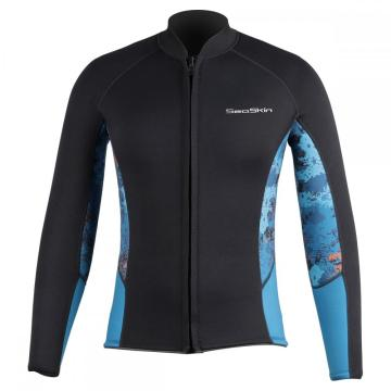Wind Proof Front Zip Neoprene Surfing Jacket