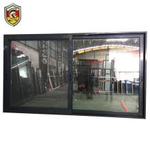 Bullet proof tempered glass sliding door exterior house style aluminium door price