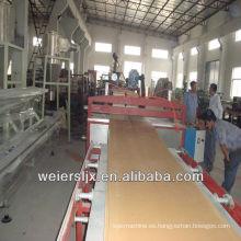 wpc celuka técnica alemania calidad extruido máquina de la placa de espuma