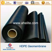 Superficie lisa HDPE PVC EVA LLDPE LDPE Geomembranes