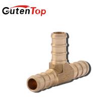 GUTENTOP-LB Raccord à sertir en T Dia Brass PEX de 3/4 po x 3/4 po de haute qualité