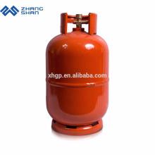 Professionelle Versorgung 11L Unterschiedliches Design 5 kg LPG-Gasflasche füllen