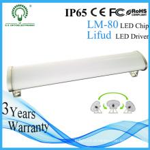 IP65 Lifud Driver 600 milímetros de alumínio LED Tri Proof Light / Iluminação LED