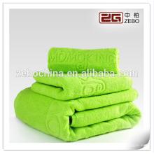 100% coton Taille personnalisée Disponible 32s Colorful Dobby Bath Towel