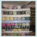 Хлопок фланелевой ткани для пижамы и одежды