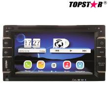Lecteur DVD de voiture double DIN 2DIN de 6.5 pouces avec système Wince Ts-2508-2
