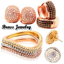 Bijoux en argent et bijoux à la mode 925 Bijoux et bijoux en laiton