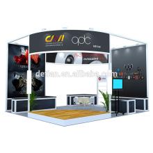Detian offre système de conception d'exposition de stand de salon de commerce portable