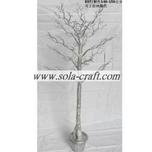 140CM Crystal Plastic Wedding Tree For Table Ware Centerpiece