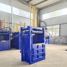 Vertical hydraulic cardboard baling press machine waste paper baler machine clothes bale machine