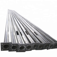 single arm street light steel electric poles