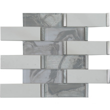 Ravenna Style Premium Wall Hanging Glass Stone Mosaic Tile Backsplash