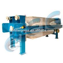 Leo Filter Presse Abwasseraufbereitungsanlage Schlamm Entwässerung Filter Press System, Abwasser Entwässerung Filterpresse