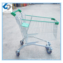 Caddie Style Supermarket Shopping Carts with 125L