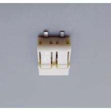 Connecteur de fil-poussoir PCB avec bouton