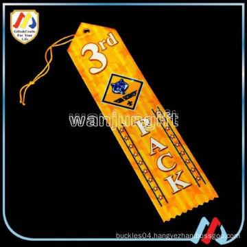 handmade satin award ribbon