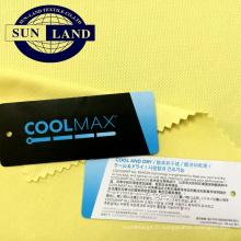 t-shirts de football de sport tissus en polyester respirant oeillet coolmax