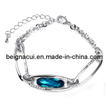 Sw Elements Crystal Indicolite Color Special Arabic Bridal Bracelet Jewelry