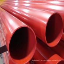 Fabrik Preis ASTM A795 Sch10 / 40 Stahlrohr für Spriinkler Feuerwehrsystem