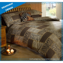 Animal Prints Patchwork Design Polyester Duvet Cover Bedding