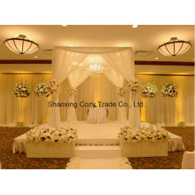 Good Quality Voile Sheer for Wedding Banquet Drape, Curtain, Backdrop