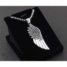 Крылья ангела из нержавеющей стали 316L подарок ожерелье кулон