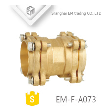 EM-F-A073 Brass forged hose pipe flange type spigot pipe fitting
