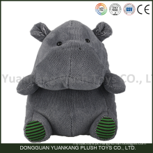 Atacado Personalizado Mini Feliz Verde Hipopótamo Brinquedo De Pelúcia para Crianças