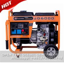10hp 186f air cooled diesel generator 5kw
