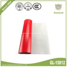 Rouleau imperméable rouge 900gsm de bâche de PVC de couverture de camion