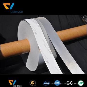 acessórios reflexivos da segurança material reflexiva da fita para a roupa da segurança