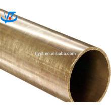 Preço de cobre de 1 quilograma na tubulação de bronze de india / tubo de bronze retangular quadrado redondo