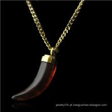 Jóias de aço inoxidável jóias colar de pingente de moda (hdx1110)