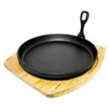 Wholesale Pre-Seasoned Cast Iron Sizzling Plate