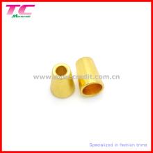 Perles en métal doré personnalisées pour le matériel de maillot de bain