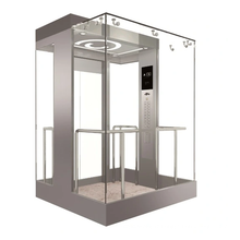 Ascenseur de passagers MRL avec moteur sans engrenage PM