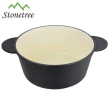 Pflanzenöl Gusseisen Runde Mini-Pfanne Bratpfanne