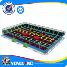 China Huge Indoor Square Trampolines