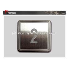 Mejor calidad botón práctica braille para ascensor