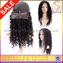5a Mongolian Two Tone Unprocessed Virgin Glueless Full Lace Wig With Bangs