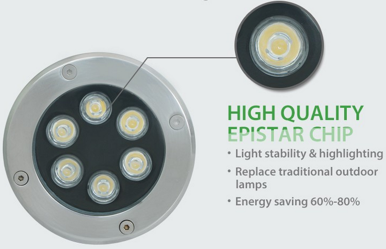 Inground led light outdoor
