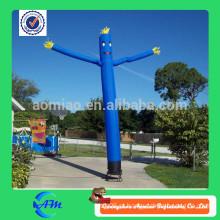 Dancer inflável do céu com ventilador venda